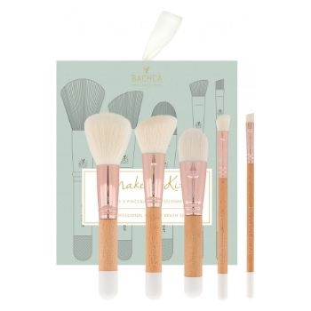 Coffret cadeau Pinceaux à Maquillage Blanc & Rosegold