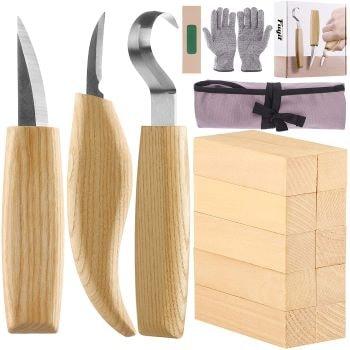 kit cadeau sculpture bois