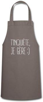 tablier cuisine - Beaux Cadeaux
