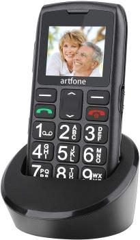 téléphone fixe touche large à offrir à grand parents