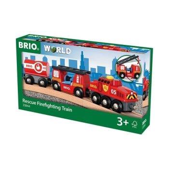 train pompier - Beaux Cadeaux