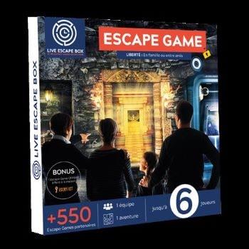 coffret cadeau pour escape game