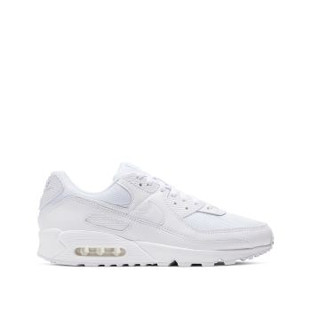 baskets blanches nike air 90 pour homme